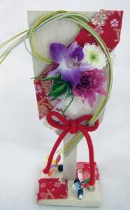 お正月の羽子板飾り ¥2,500