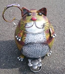 ネコ型小物入れ&ゴミ箱 ¥6,000